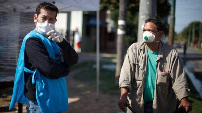Comezaron a funcionar postas sanitarias en los ingresos de los barrios populares de San Martín