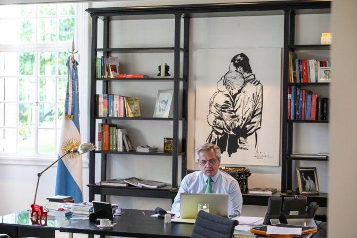 Carta Alberto Fernandez