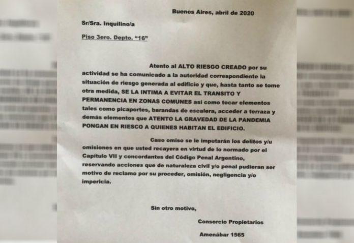 Cartel Discriminacion Medica Houssay Vicente Lopez