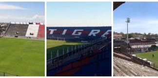 Estadios Sin Publico Tigre chaca platense