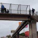 Puente Peatonal Garin Intento Suicidio