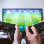 play station jugar gamer