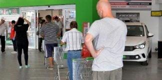 supermercado fila