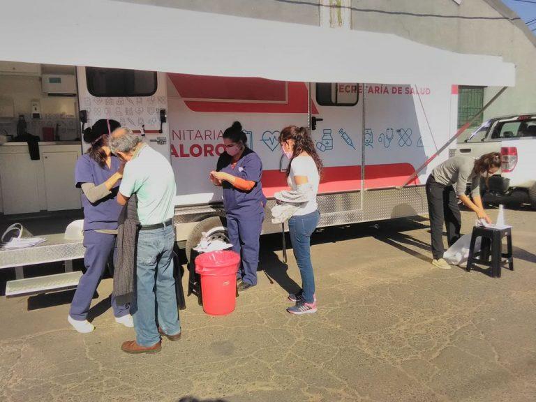 Recorren los barrios vulnerables de Tigre para detectar casos sospechosos de coronavirus