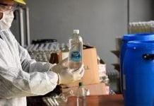 alcohol en gel malvinas argentinas