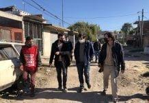 También Visitaron La Posta Sanitaria Del Barrio Donde Se Brinda Información Preventiva, Se Hace Entrega Barbijos Y De Elementos De Higiene. (1)