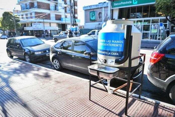 Tanque Agua comunitario escobar