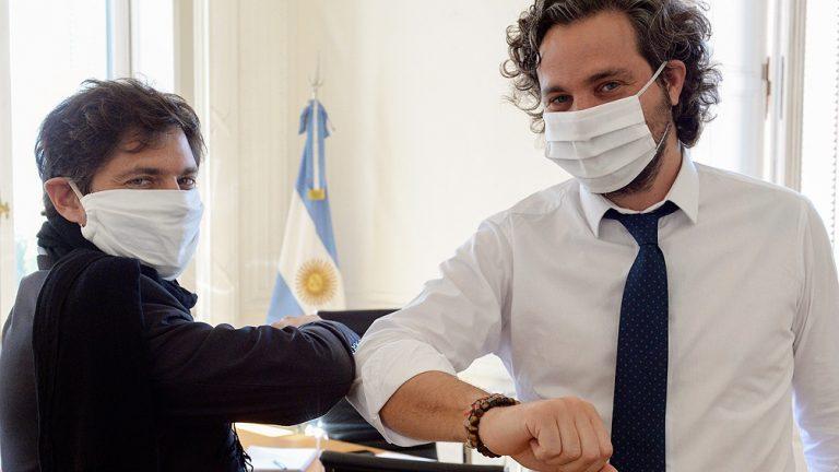 Cafiero y Kicillof presentan el protocolo de intervención para barrios populares por el coronavirus