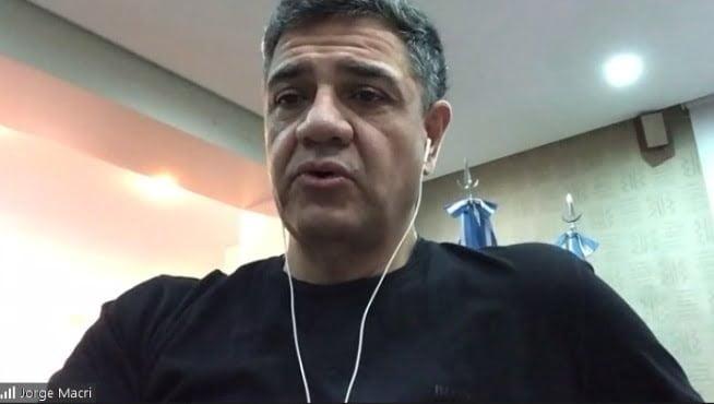 Jorge Macri Charla Periodistas Cuarentena