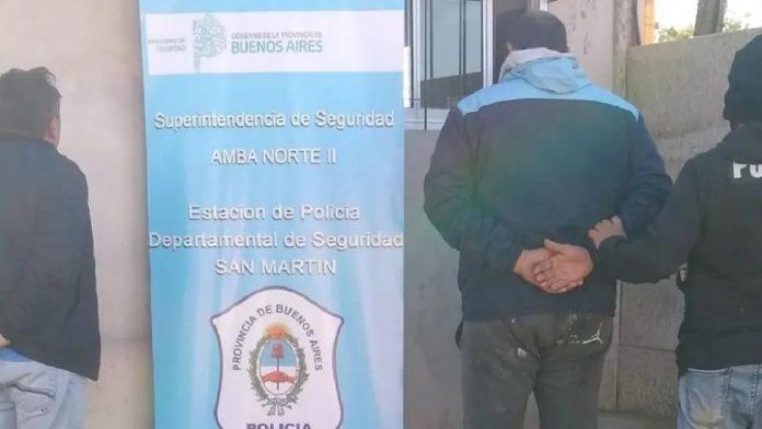 Policia Detenido Villa Maipu