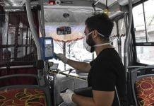 Transporte Publico Colectivo Sube Cuarentena Coronavirus