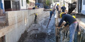 Excavacion Tunel Martin Rodriguez San Fernando
