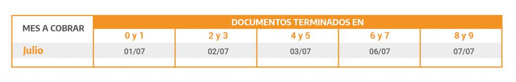 7 Calendario De Pagos Prensa Pensiones No Contributivas