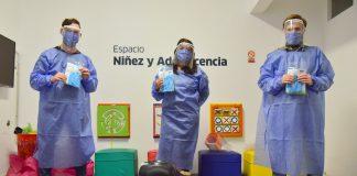 Junto A Las Empresas, El Municipio Entrega Los Kits De Higiene Y Seguridad. (1)