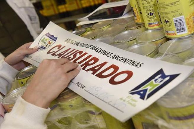 Clausura Carrefour Malvinas Caso Covid Opt