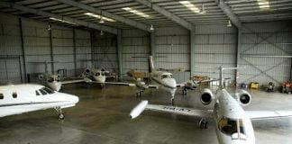 Hangar Aeropuerto San Fernando
