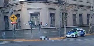 Hombre Encontrado Muerto Calle San Fernando