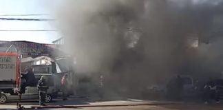 Incendio Taller Gnc Malvinas Los Polvorines 2