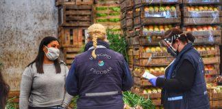 Mercado Frutas Verduras Escobar Coronavirus