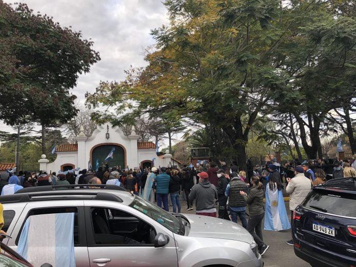 Movilizacion Quinta Olivos 5