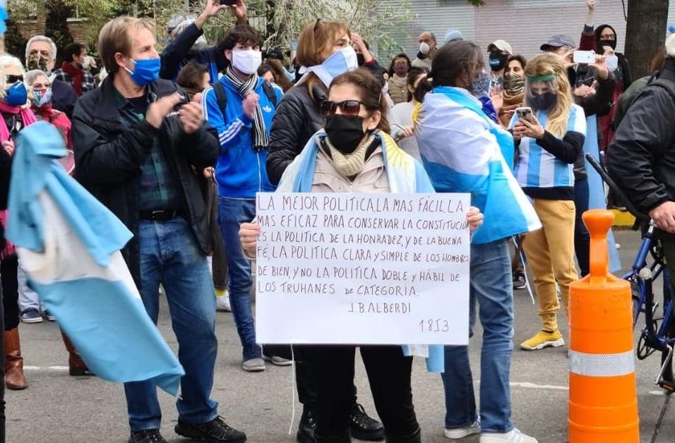 Movilizacion Quinta Olivos 6