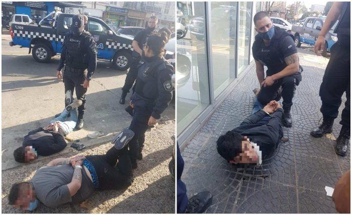 Persecucion Detenidos Robo Munro