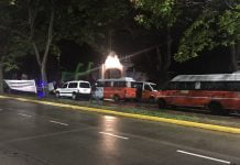 Protesta Quinta Olivos Transporte Discapacidad