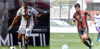 Gian Croci y Adrián Torres Chacarita