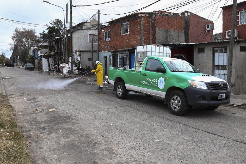 Operativo En Barrio La Loma