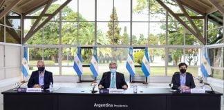 Alberto Fernandez Anuncio Cuarentena 16 Agosto