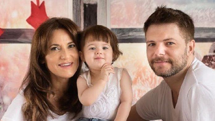 María Fernanda Callejón y su familia, internados de urgencia