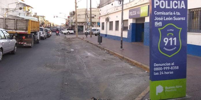 Comisaria Jose Leon Suarez Femicidio Asesinato Hermano