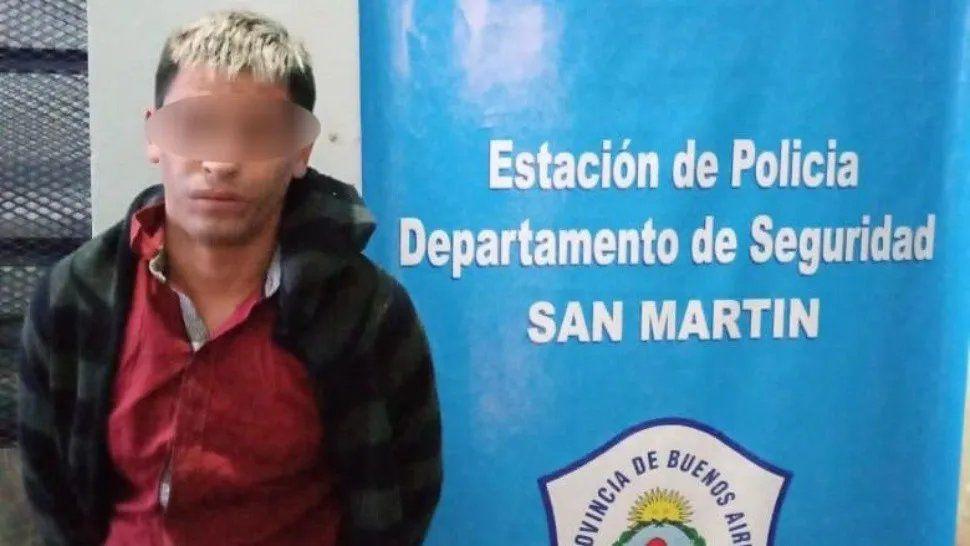 Detenido Violador San Martin