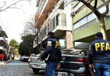 Detenidos Allanamiento Tribunales San Isidro Narcotrafico