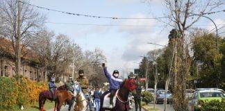 Foto Movilizacion Turf San Isidro