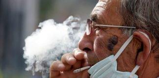 Fumador Coronavirus Barbijo Epoc
