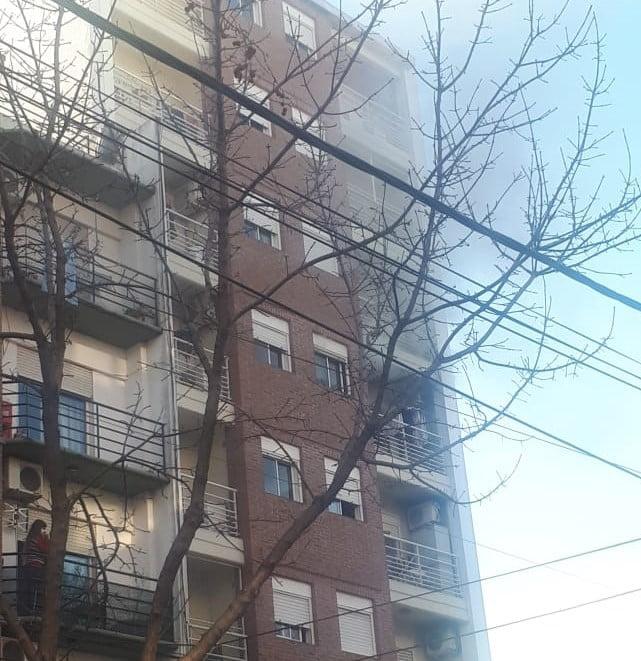 Incendio Edificio Villa Ballester