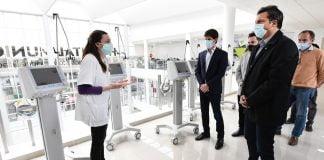 Massa Andreotti Respiradores Hospital San Fernando