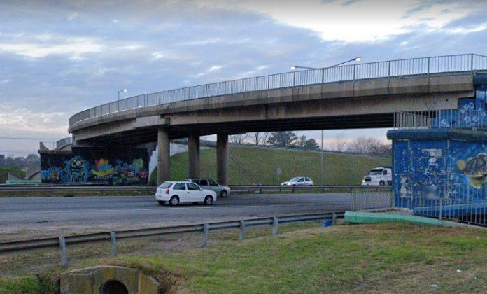 Puente Septiembre Accidente Panamericana Hombre Puente