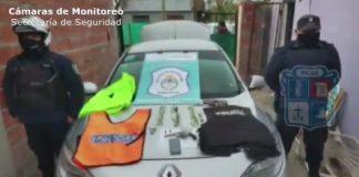 Robo Mano Armada Pilar Policia