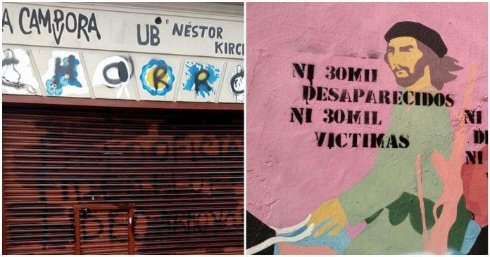 Vandalismo Locales Partidarios San Martin