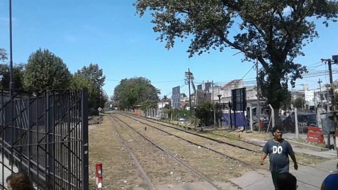 Violador San Martin Vias Tren