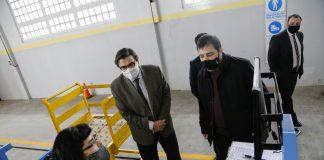 El Intendente Y El Ministro De Trabajo Empleo Y Seguridad Social De La Nacion Recorrieron La Industria Local Dedicada A La Fabricacion Y Ensamble De Electrodomesticos.