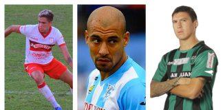 Lucas Pérez Godoy, Osvaldo Centurión, Eric Aparicio Y Ramiro Ríos. Chacarita