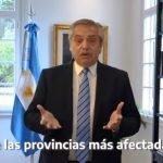 Anuncio Cuarentena Alberto Fernandez 20 Septiembre