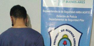 Detenido Destornillador Pilar