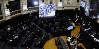 Sesión Cámara De Diputados De Pba. La Plata 6/08/2020