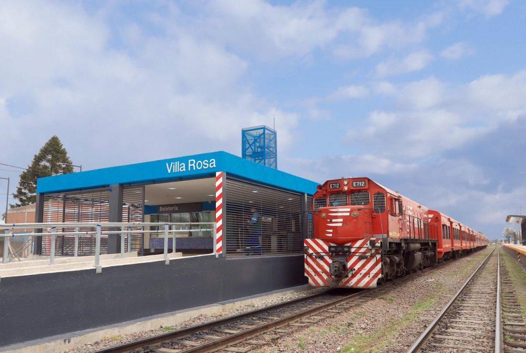 Estacion Tren Villa Rosa Belgrano Norte