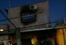 Incendio Villa Mayo