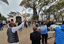 Protesta Tenis Olivos